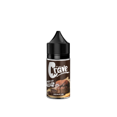 Crave Salt Chocolate Bun E-Juice - Flava Hub