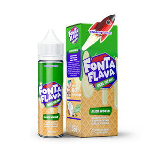Fonta Fonta Alien World Creamy Series E-Juice - Flava Hub