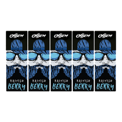 Ossem Juice British Berry E-liquid Bundle (Set of 5) E-Juice - Flava Hub