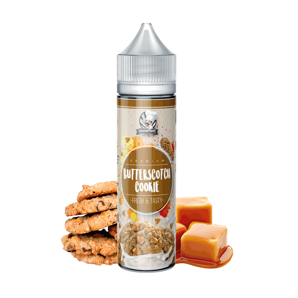 Master Chef Butterscotch Cookie E-Liquid E-Juice - Flava Hub