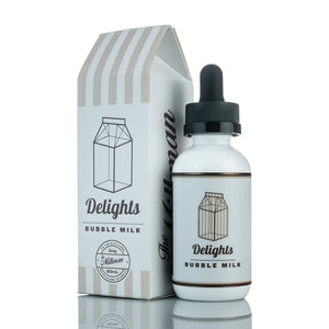 The Milkman Delights Bubble Milk (50ml) E-Juice - Flava Hub