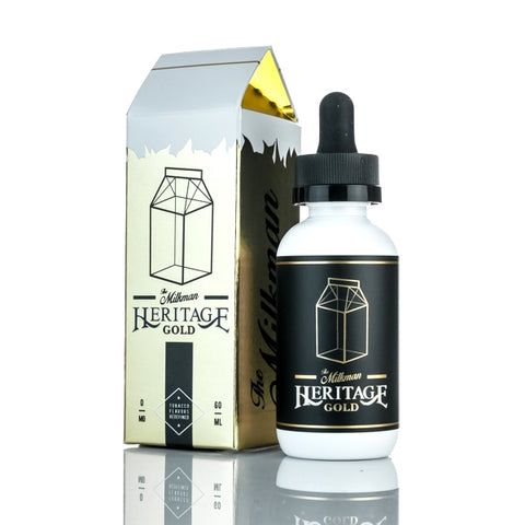 The Milkman Heritage Gold (50ml) E-Juice - Flava Hub