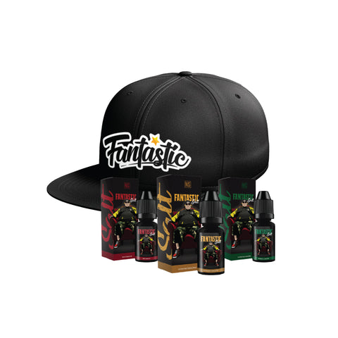 Image of Fantastic Salt Mix+ Snapback Cap Bundle E-Juice - Flava Hub