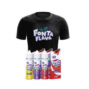 Fonta Flava Fizzy Series + T-Shirt Bundle
