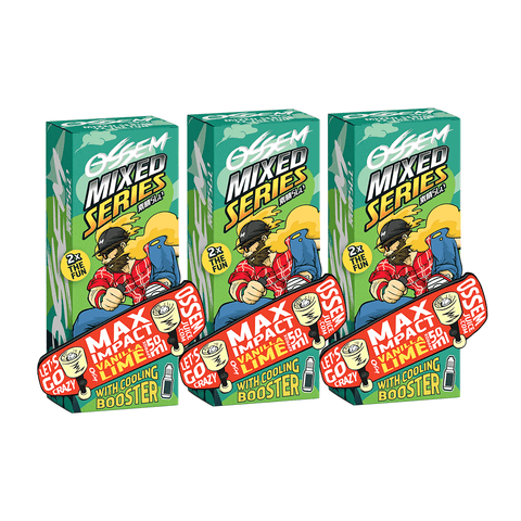 OSSEM MAX IMPACT Vanilla Lime Bundle (Set of 3) E-Juice - Flava Hub