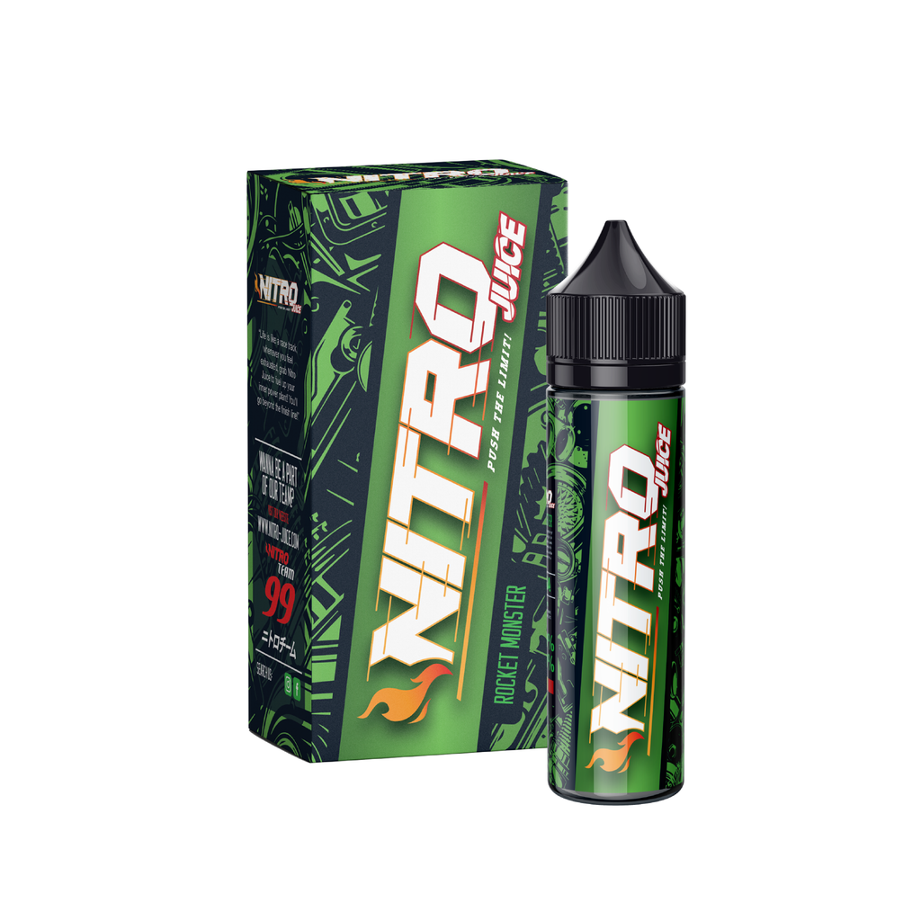 Nitro Juice Rocket Monster E-Juice - Flava Hub