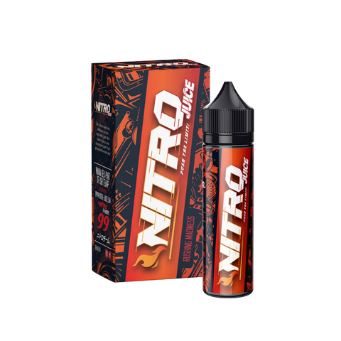 Nitro Juice Rushing Madness E-Juice - Flava Hub
