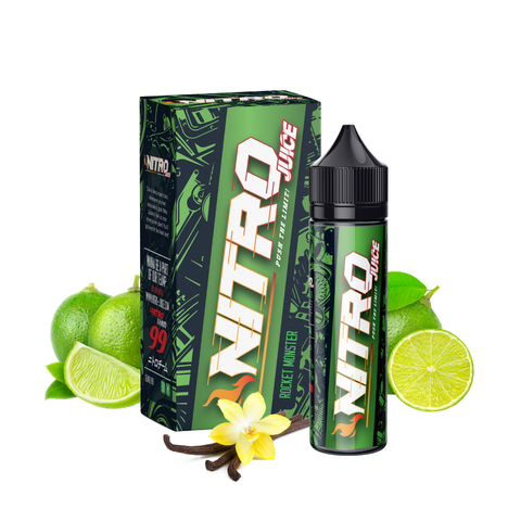 Nitro Juice Rocket Monster E-liquid E-Juice - Flava Hub