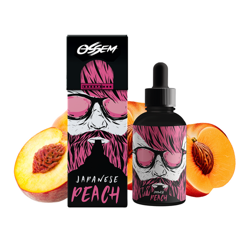 Image of Ossem Japanese Peach E-Liquid E-Juice - Flava Hub