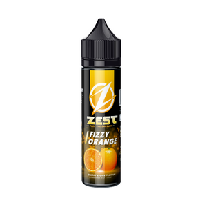 Zest Juice Fizzy Orange E-Liquid (50ml) E-Juice - Flava Hub