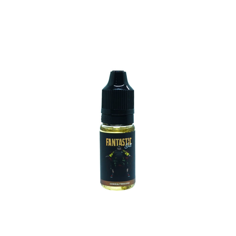 Fantastic Nic Salt Cookie Butterscotch (10ML) E-Juice - Flava Hub