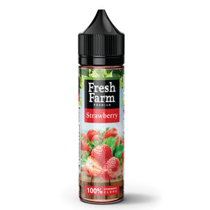 Fresh Farm Strawberry E-liquid E-Juice - Flava Hub
