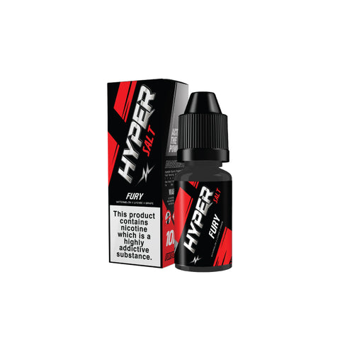 Hyper Salt Fury Nic Salt (10ml)