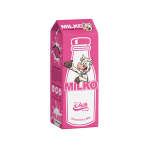 Milko Strawberry Milk E-liquid (50ml)
