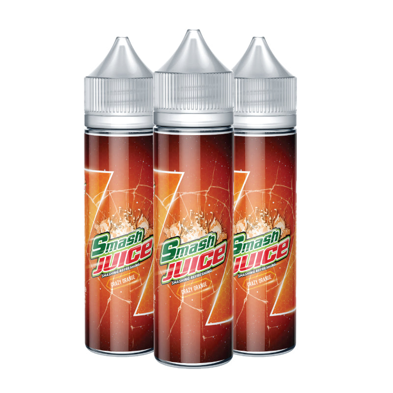 Smash Juice Crazy Orange Bundle Set of 3 E-liquid