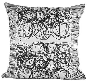 "Tumble Weeds 24"" x 24"" pillow"
