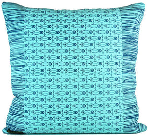 "Zaire Ikat 24"" x 24"" pillow"