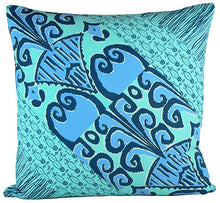 "Load image into Gallery viewer, Zaire Ikat 24"" x 24"" pillow"