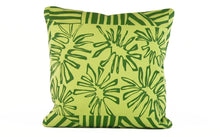 "Load image into Gallery viewer, ""Paradise"" 18"" x 18"" pillow"