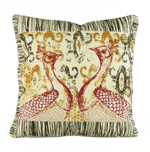 "Load image into Gallery viewer, ""Enchanted"" 18"" x 18"" pillow"