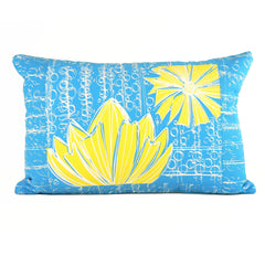 """Duchess"" in Blue Bell- 16"" x 24"" pillow"