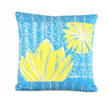 "Load image into Gallery viewer, ""Duchess"" in Blue Bell- 18"" x 18"" pillow"