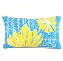 "Load image into Gallery viewer, ""Duchess"" in Blue Bell- 12"" x 20"" pillow"