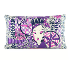 "Load image into Gallery viewer, ""Flirt"" 12"" x 20"" pillow"