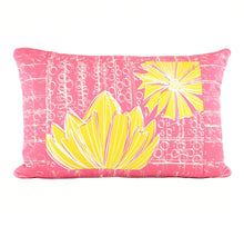 "Load image into Gallery viewer, ""Duchess"" in Pink Lemonade- 16"" x 24"" pillow"