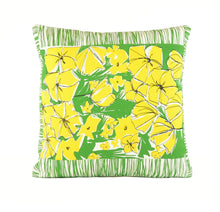 "Load image into Gallery viewer, ""California Dreamin'"" 18"" x 18"" pillow"