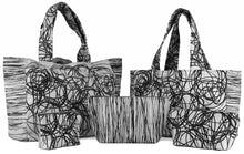 "Load image into Gallery viewer, ""Tumble Weeds"" Fat Bottome Bag- Large"
