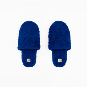 Sheepskin Blue Hotel Slippers