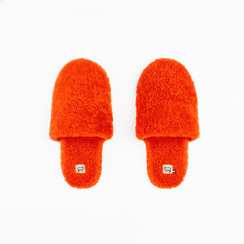 Sheepskin Orange Hotel Slippers