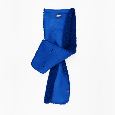Sheepskin Bright Blue Scarf