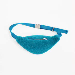 Sheepskin Turquoise Bum Bag