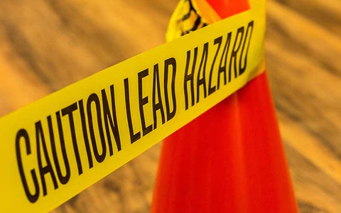 caution lead hazard