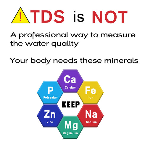 TDS is not an effective way to measure water quality