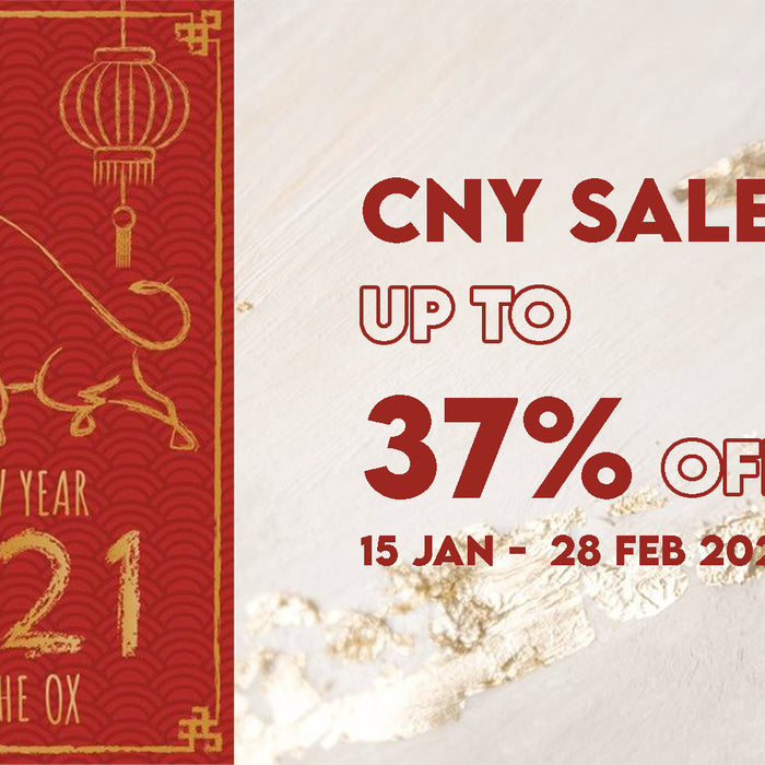 2021 CNY - Year of the OX Sale