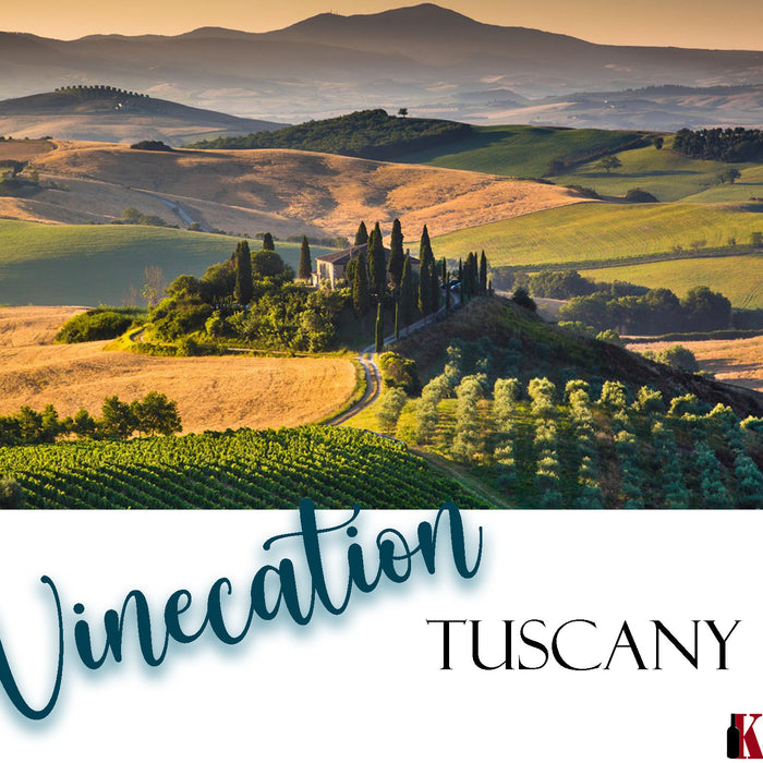 Let's go Winecation! - Tuscany