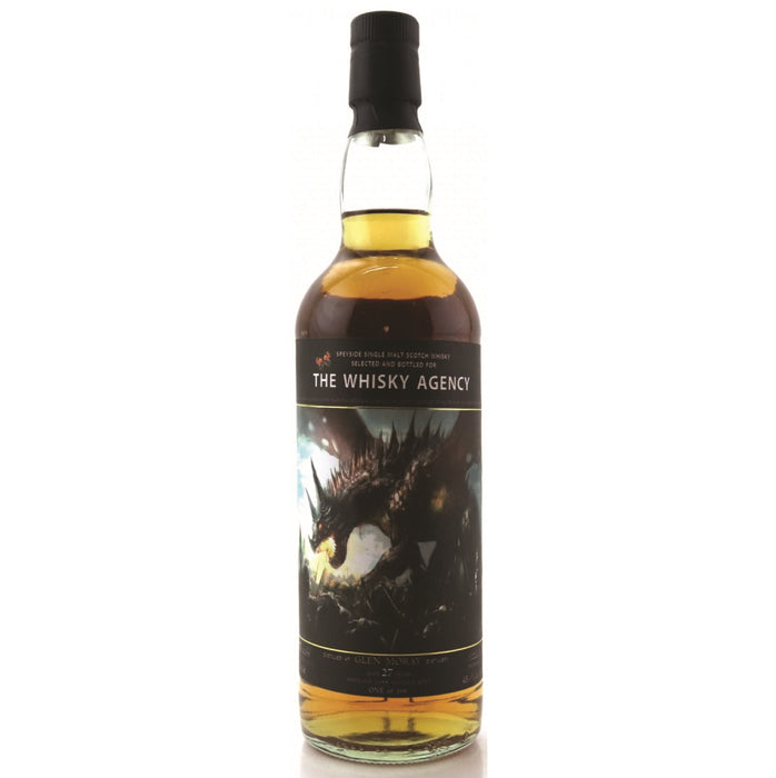 1988 The Whisky Agency Glen Moray 27 Year Single Malt Whisky
