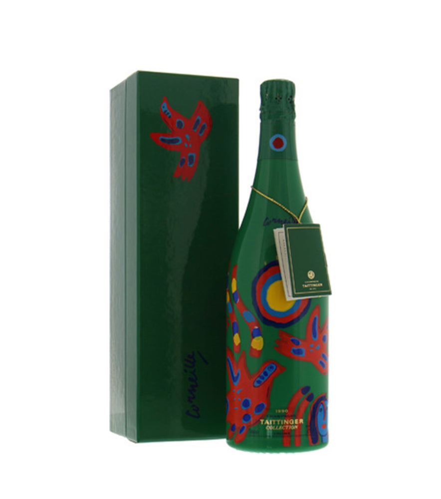 1990 Champagne Taittinger Collection Gift Box