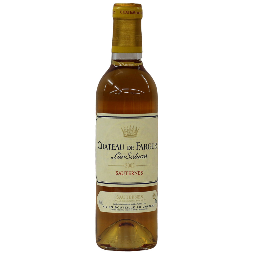 2002 Chateau de Fargues  (375 ml)