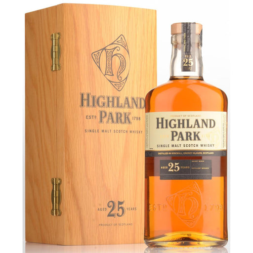 Highland Park 25 Years Single Malt Whisky