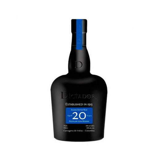 Dictador 20 Years Solera System Rum (50 ml)