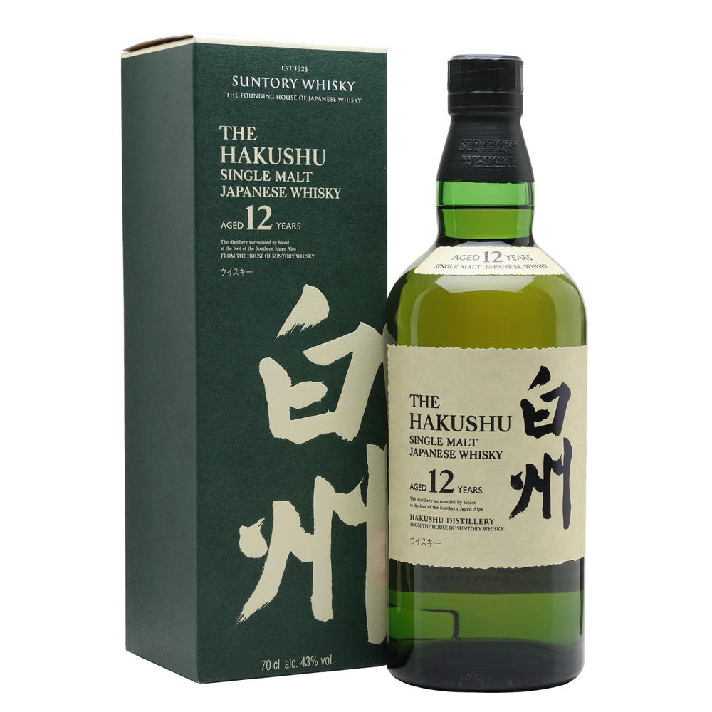 Hakushu 12 Years Single Malt Whisky