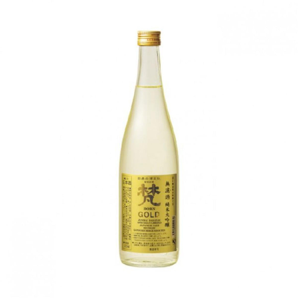 梵 GOLD無過濾 純米大吟釀 Born Gold Junmai Daiginjo (720 ml)