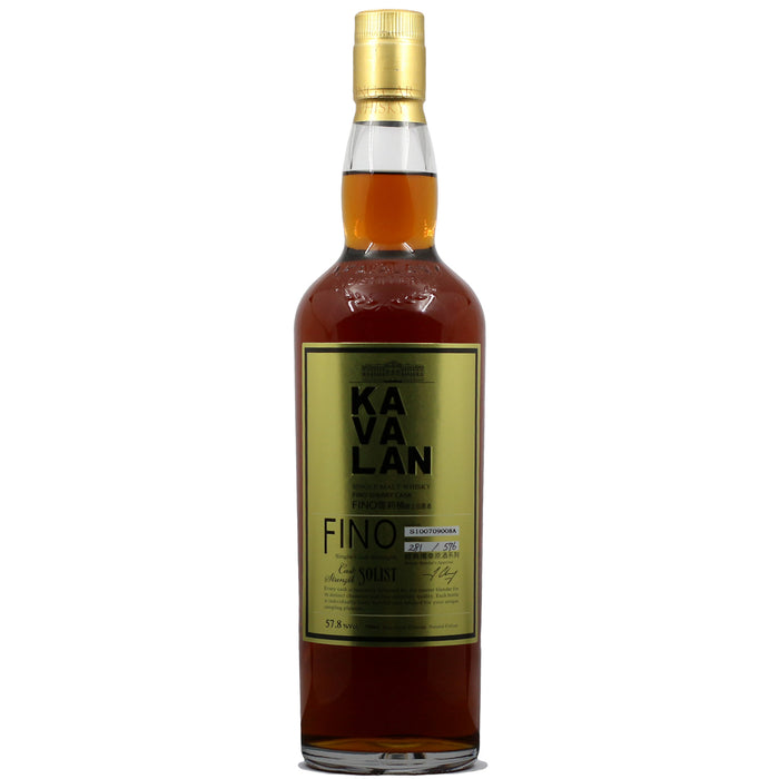 Kavalan Solist Fino Sherry Cask Cask Strength