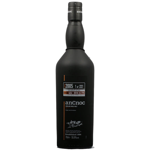 2005 AnCnoc First Fill Bourbon Single Cask Whisky