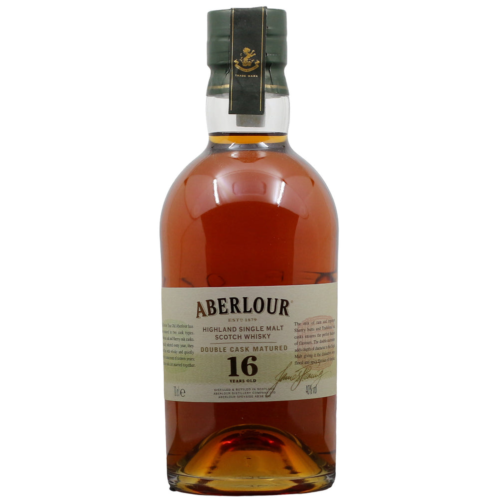 Aberlour Double Cask Matured 16 Year Old Single Malt Scotch Whisky