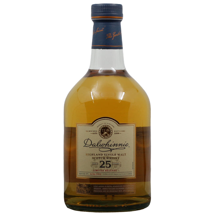 Dalwhinnie 25 Years Old Limited release Single Malt